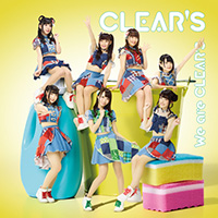 1stアルバム「We are CLEAR'S」